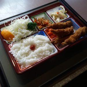 エビフライ定食